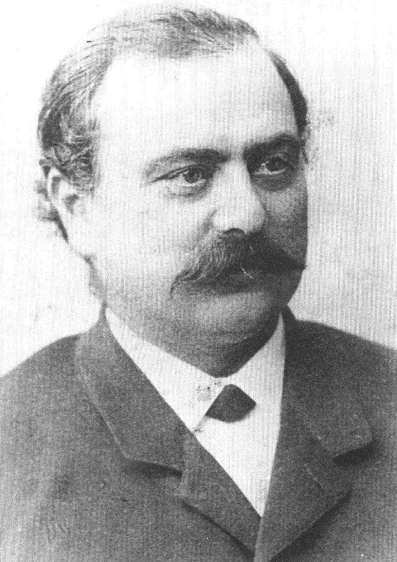 Der Unternehmer Albert Schmidt (1841-1932) war auch das Bindeglied zu der reichen Förderfamilie Hardt. Er setzte die Veränderungen ingenieurmäßig und praktisch um. Lenneparchiv Schmidt