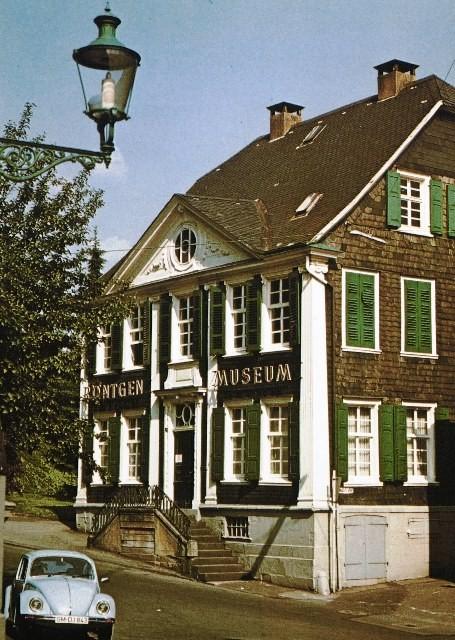 Das Röntgenmuseum in den 1960er Jahren. Lenneparchiv Schmidt