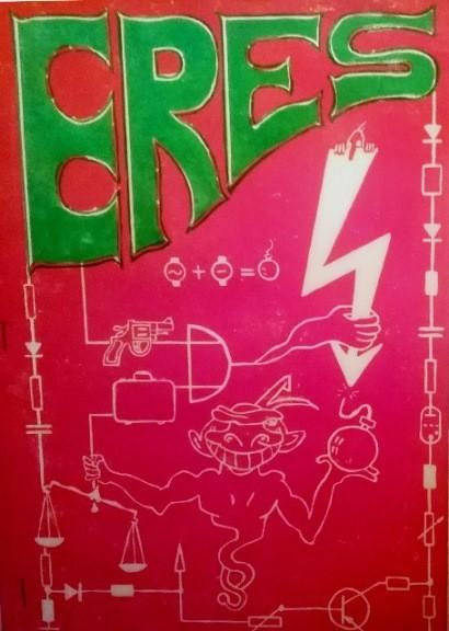 Bierzeitung, Cover, des ersten Elektosemesters. Quelle und Repro privat